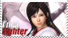 Kokoro - I'm a Fighter Stamp by SnowTheWinterKitsune