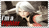 Christie - I'm a Fighter Stamp by SnowTheWinterKitsune
