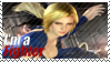 Helena - I'm a Fighter Stamp by SnowTheWinterKitsune