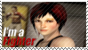 Mila - I'm a Fighter Stamp by SnowTheWinterKitsune