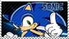 Sonic The Hedgehog Stamp by SnowTheWinterKitsune