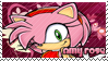 Amy Rose Stamp by SnowTheWinterKitsune