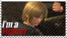 Eliot - I'm a Fighter Stamp by SnowTheWinterKitsune