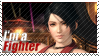 Momiji - I'm A Fighter Stamp by SnowTheWinterKitsune