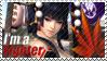 Nyo Tengu - I'm a Fighter Stamp by SnowTheWinterKitsune