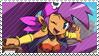 Shantae - Pirate's Curse Stamp
