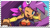 Shantae - Pirate's Curse Stamp by SnowTheWinterKitsune
