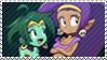 Shantae x Rottytops - Stamp