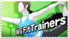 Wii Fit Trainer - Splash Card Stamp by SnowTheWinterKitsune