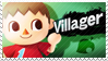 Villager - Splash Card Stamp by SnowTheWinterKitsune