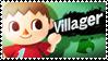 Villager - Splash Card Stamp by SnowTheWinterKitsune