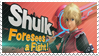Shulk - Splash Card Stamp by SnowTheWinterKitsune