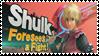 Shulk - Splash Card Stamp by SnowTheWinterKitsune