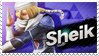 Sheik - Splash Card Stamp by SnowTheWinterKitsune