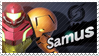 Samus - Splash Card Stamp by SnowTheWinterKitsune