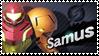 Samus - Splash Card Stamp by SnowTheWinterKitsune