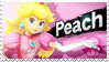 Peach - Splash Card Stamp by SnowTheWinterKitsune
