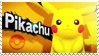 Pikachu - Splash Card Stamp by SnowTheWinterKitsune