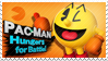 Pac-Man - Splash Card Stamp by SnowTheWinterKitsune