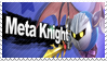 Meta Knight - Splash Card Stamp by SnowTheWinterKitsune