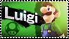 Luigi - Splash Card Stamp by SnowTheWinterKitsune
