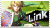 Link - Splash Card Stamp by SnowTheWinterKitsune