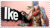 Ike - Splash Card Stamp by SnowTheWinterKitsune