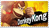 Donkey Kong - Splash Card Stamp by SnowTheWinterKitsune