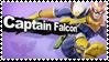 Captain Falcon - Splash Card Stamp by SnowTheWinterKitsune