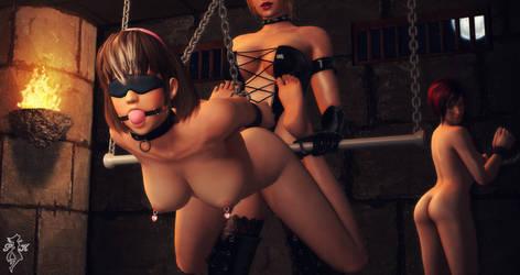 Playmates by SnowTheWinterKitsune