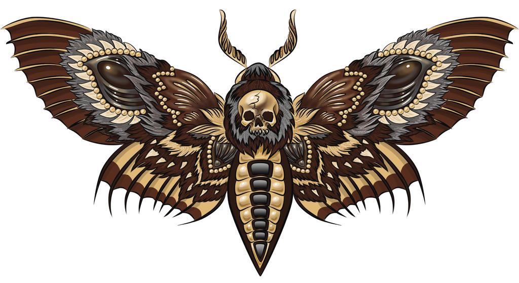 Death's head by Esquirol