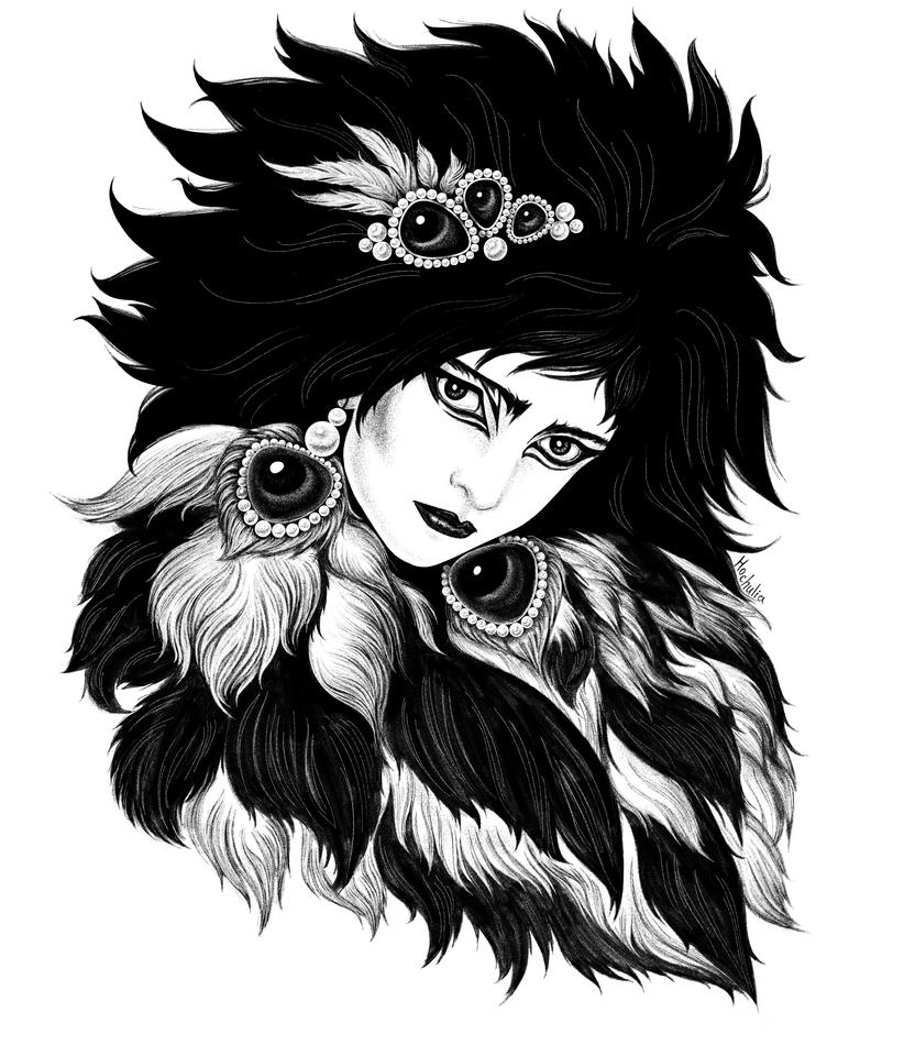 Siouxsie Sioux by Esquirol