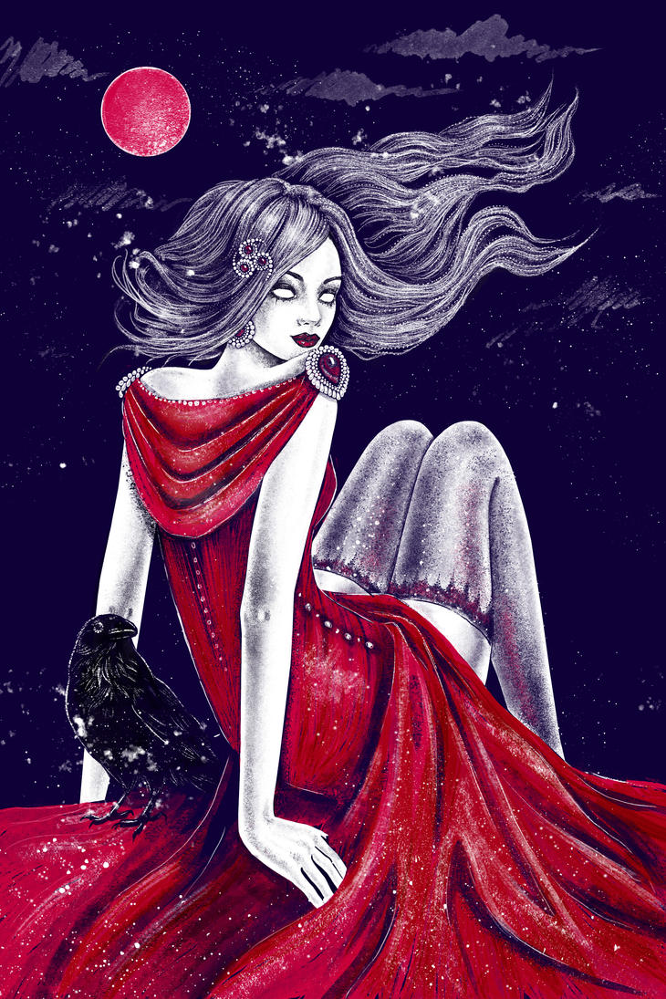 Red Witch by Esquirol