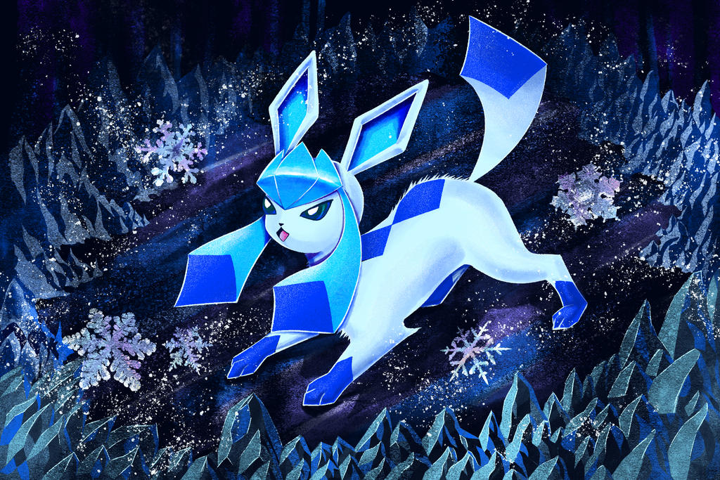 Glaceon by Esquirol
