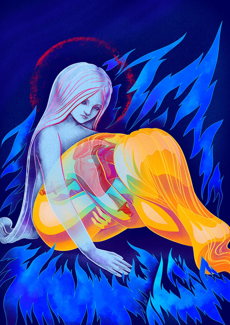 Watching anxiety by yulia-hochulia
