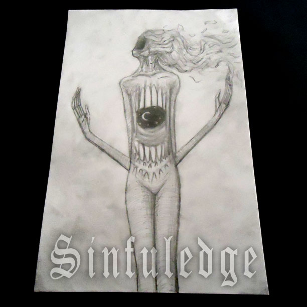 SINFULEDGE - Sketch of The Day - 2/20/16 by Sinfuledge