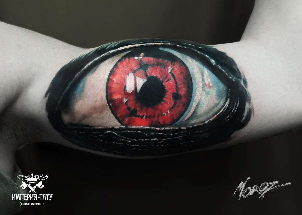 eye sharingan by MorozTattoo on DeviantArt