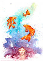 Inside a dream... by Noriko-Sugawara