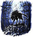 Inktober Day 2: Werewolf