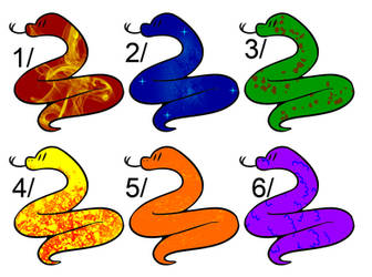 Cheap Snake adopts (OPEN 6/6) 2 POINTS