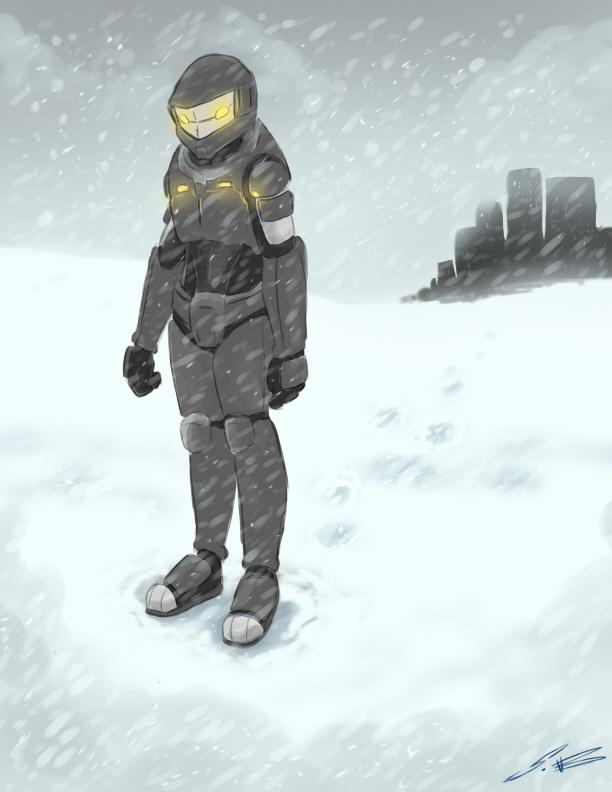 Snow Warrior by SonicDnB