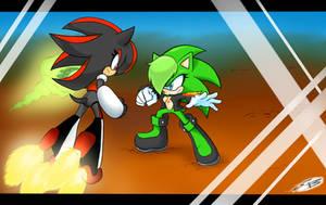 Female Shadow VS Scourge