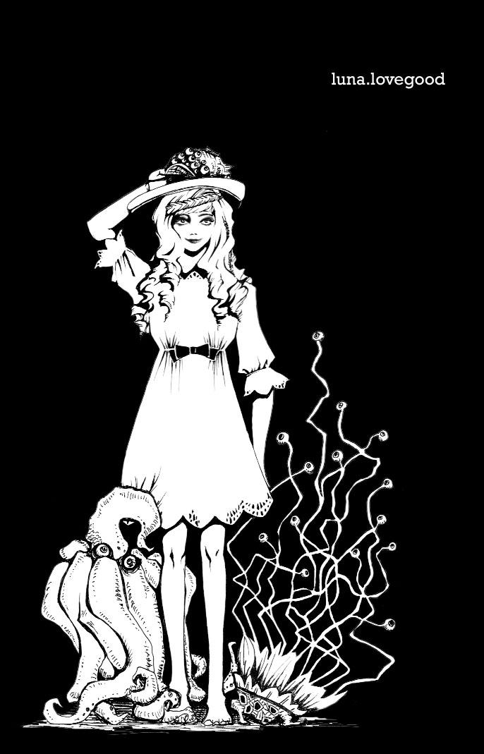 Luna Lovegood + Magical Beasts by Seinde