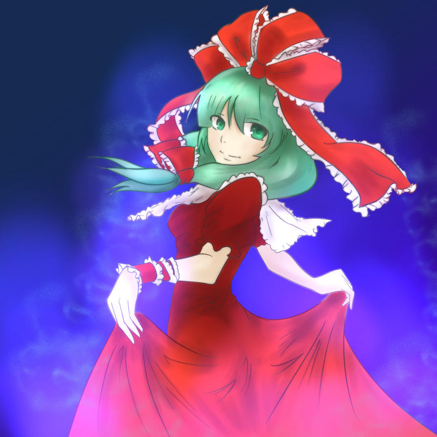 Touhou Fanart: Oh, You're Still Here? by Kasey-N-Moore