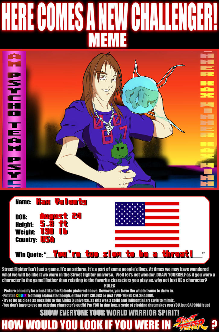 P.S.Y.C.H.O. Invades SFA3: Kax Hax by Kasey-N-Moore