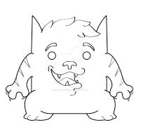 Cat Cat WIP by Littleblue22