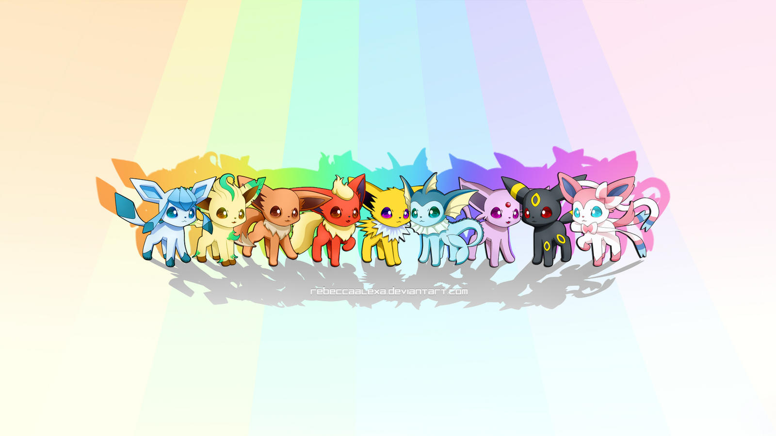 eeveelutions chibi wallpaper - photo #19