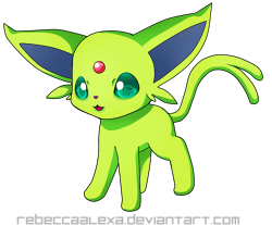 Shiny Espeon Icon by RebeccaAlexa on DeviantArt