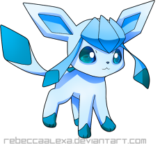 Glaceon png icon by RebeccaAlexa