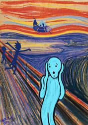 meseeks scream by BellaLyle